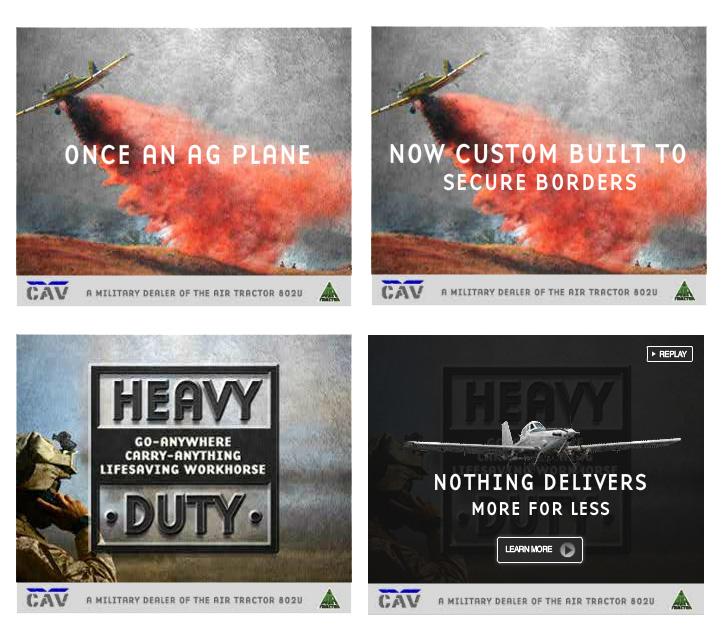 B2B Banner Ad Development - Portfolio